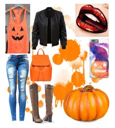 """""""Untitled #55"""" by bailey2015 on Polyvore featuring Venus, LE3NO and Improvements"""
