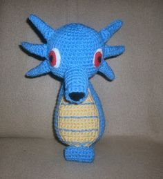 WolfDreamer: the best Pokemon crochet I've ever seen.  She also as minions and Mario