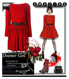 """DEAMER GIRL"" by whitewolf ❤ liked on Polyvore featuring Yves Saint Laurent, Chrome Hearts and Nearly Natural"