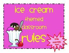 ice cream classroom