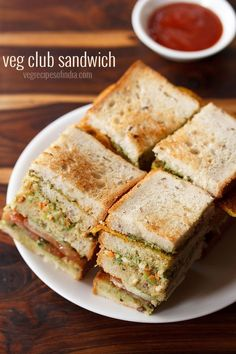 veg club sandwich recipe - this recipe is the club sandwich that used to be served in the restaurants in mumbai.   #sandwich #clubsandwich