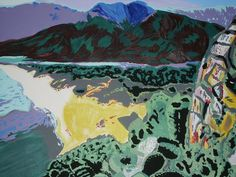 beloved Sardegna - MW Art Marion Waschk Acrylic on Canvas 50x70cm