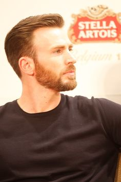 Chris Evans: great in profile (and every other angle)