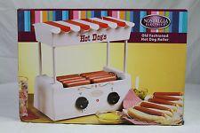 New Nostalgia Electrics Old Fashioned Hot Dog Roller Cooker Machine Price: USD 28   UnitedStates