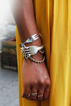 NYC #streetstyle DIY bracelets