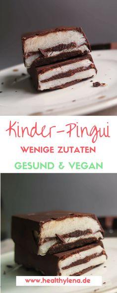 Vegane Kinder-Pingui gesund lecker glutenfrei einfaches rezept Source by Baby Food Recipes, Sweet Recipes, Baking Recipes, Vegan Recipes, Snack Recipes, Easy Recipes, Dessert Simple, Vegan Treats, Easy Desserts