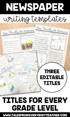 Creative writing titles for year 6