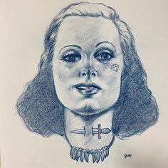 Pale Moon Graphics - Femme Fatale #drawing #sketch #illustration #prismacolor #filmnoir #portrait #art #tattoo #femmefatale #piirustus #luonnos #kuvitus #tatuointi #taide #muotokuva #palemoongraphics Prismacolor, Pale Moon, Tattoo Graphic, Portraits, Portrait Art, Illustration, About Me Blog, Sketch Tattoo, Sketches