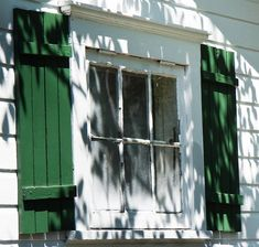 """""""Green Shutters White House Cape May New Jersey"""" by Mark And Judy Coran Painting Shutters, Green Shutters, Classic Window, Advantages Of Solar Energy, House Trim, Vintage House Plans, Cape May, Living Room Colors, Buy Prints"""