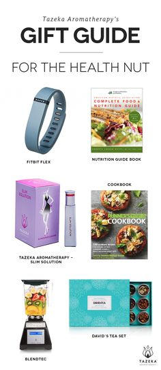 Is your mom a health nut? Try these gift ideas we've put together! #Tazeka