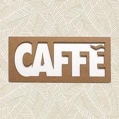 Guarda questo articolo nel mio negozio Etsy https://www.etsy.com/it/listing/533155979/caffe-insegna-cartone-collage-parola