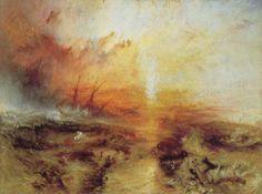 Joseph Mallord William Turner – Slave Ship (1840)