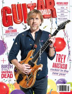 Cover Story: Trey Anastasio Talks Phish, Grateful Dead, Guitar Geekery and New Solo Record 'Paper Wheels'