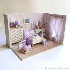 Румбокс Лавандовые сны румбокс кукольный домик коллекционная миниатюра – купить в интернет-магазине на Ярмарке Мастеров с доставкой