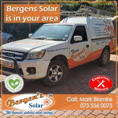 Been thinking about taking power into your own hands? We can help get you connected to solar power. There are various options to choose from that will suit your needs. We are in your area and only one call away. Bergens Solar is Covid Compliant.  #poweredbysolar #solarpower #bergens #solar #solarsolution #solarrepairs #solarmaintenance #inyourarea #essentialservice #johannesburg #solargeyser #tracingwires #power #bergenssolar #gogreen Call Mark Phone: 073 556 0073 Email: mark@bergens.co.za