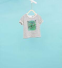 Imagem 1 de T-shirt gatinho da Zara