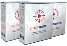 Vidio Sniper is brand new video technology that swipes any video and strategically populates products to increase sales By 174%. It's a wordpress plugin that sets up in minutes and requires no tech skills or experience. This is the most powerful video marketing tool to attract, engage and convert visitors into paying customers.
