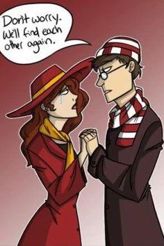Carmen Sandiego & Waldo
