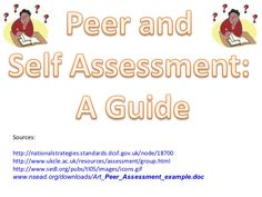 This Includes A Self Assessment Survey For Students To Complete