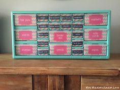 Teacher Tool Kit step by step directions and Labels!