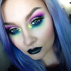 Apparently I've been feeling really colorful lately Skin: @makeupforeverofficial Ult... | Use Instagram online! Websta is the Best Instagram Web Viewer!