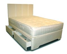 Small Double Silver Zoned Pocket Divan Set - pocket sprung mattress - different storage options available for the base - Available for next day delivery Divan Beds, Bed Centre, Comfort Mattress, Childrens Beds, Guest Bed, King Beds, Storage Drawers, King Size, Upholstery