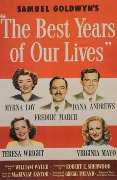 Fredric March, Myrna Loy in The Best Years of Our Lives, 1946