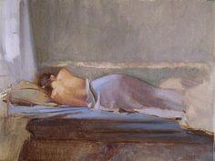 A David Graeme Baker painting.