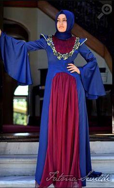 Fatma sevildi yeni abiye tesettür kıyafetleri