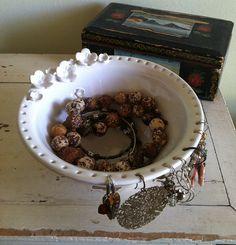 Schmuck-Bowl Schmuck-Veranstalter handgemachte von redhotpottery