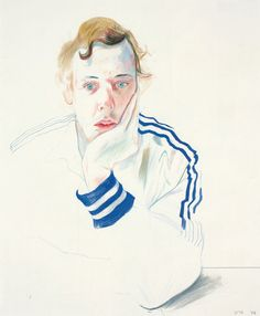 David Hockney: Drawing from Life - Exhibition at National Portrait Gallery in London David Hockney Portraits, David Hockney Paintings, David Hockney Prints, Woodblock Print, Life Drawing, Painting & Drawing, Encaustic Painting, Brian Froud, Robert Rauschenberg