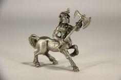 L010183 Vintage Spoontiques Pewter Figure / Unicorn