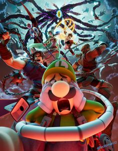 Super Smash Bros Characters, Super Smash Bros Memes, Nintendo Super Smash Bros, Nintendo Characters, Video Game Rooms, Video Game Art, Mario And Luigi, Mario Bros, Super Smash Ultimate