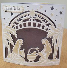 Good Evening Everyone,      Hope you're all having a fantastic week. I've got some more Christmas Create a Card Die Samples to share with ...