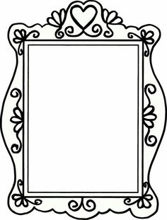 amazingly cute and free clip art frames and borders clip art rh pinterest com flames clipart png frames clip art borders