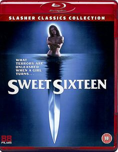 SWEET SIXTEEN BLU-RAY SPINE #33 (88 FILMS SLASHER CLASSICS COLLECTION)