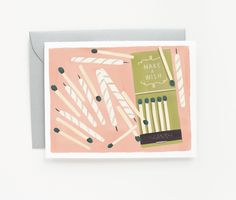 Illustrated Stationery by Quill and Fox via Oh So Beautiful Paper (7)