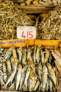 dried fish, market, Kandy, Sri Lanka (www.secretlanka.com) #SriLanka #Kandy #StreetMarket