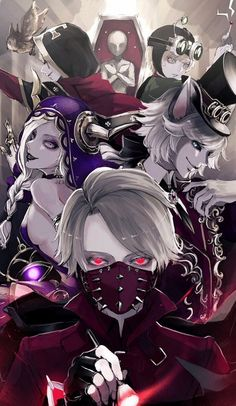 Identity V wallpaper Art Manga, Anime Manga, Anime Guys, Anime Art, Fanart, Another Anime, Identity Art, Anime Characters, Fantasy Art