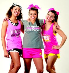 Check out our fun camp styles at GTMsportswear.com! We're ready for camp...are you? #GTMcheer #welovecamp #campideas