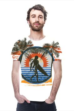 By Denis Marsili. All Over Printed Art Fashion T-Shirt by OArtTee