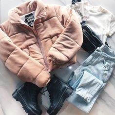 Girls Fashion Clothes, Winter Fashion Outfits, Cute Fashion, Fall Outfits, Retro Outfits, Cute Casual Outfits, Stylish Outfits, Teenager Outfits, Outfits For Teens