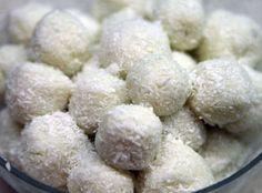 Hamis raffaello :: diétás receptek Krispie Treats, Rice Krispies, Paleo, Sugar, Cheese, Baking, Desserts, Recipes, Food