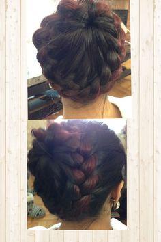 Lovely and easy hairdo!