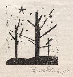 Lyonel Feininger, Trees and stars