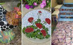 20 Beautiful Ideas With Garden Mosaics