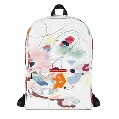 This medium size backpack is just what you need for daily use or sports activities! The pockets (including one for your laptop) give plenty of room for all your necessities, while the water-resistant material will protect them from the weather. Sports Activities, Backpacks, Bags, Handbags, Backpack, Backpacker, Bag, Backpacking, Totes