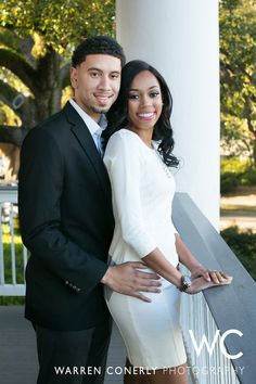 Dr. John Dwight Fusilier & Dr. Brittney Nicole Johnson [ENGAGED] - Warren Conerly Photo