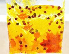 Bolsas sensoriales de otoño