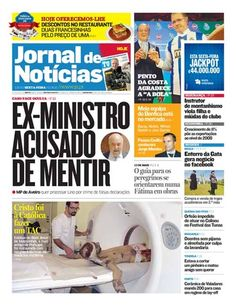 Eis a capa do JN de sexta-feira, 11 de maio. Destaque para o guia de orientação para peregrinos numa Fátima em obras.